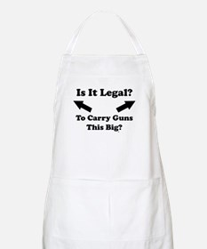 Is It Legal? BBQ Apron