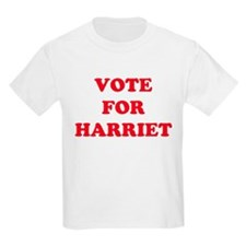 VOTE FOR HARRIET  Kids T-Shirt