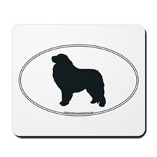 Great Pyrenees Silhouette Mousepad