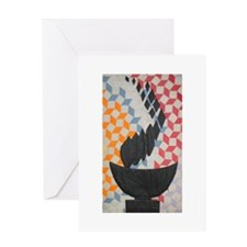 Quilted Chalice Greeting Card