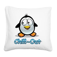 Chill-Out Square Canvas Pillow