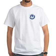 Faces & Names White T-Shirt [Pocket logo]