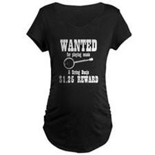 Wanted Banjo T-Shirt