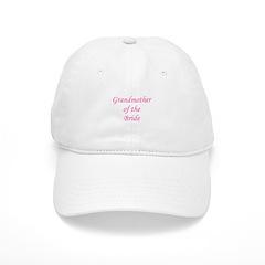 Grandmother of the Bride. Baseball Cap