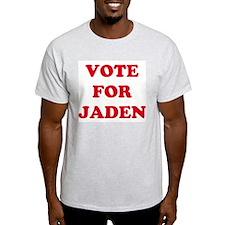 VOTE FOR JADEN  Ash Grey T-Shirt