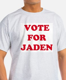 VOTE FOR JADEN  Ash Grey T-Shirt