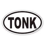 Tonkinese TONK Euro Oval Sticker