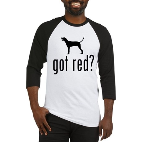 Redbone Coonhound Baseball Jersey