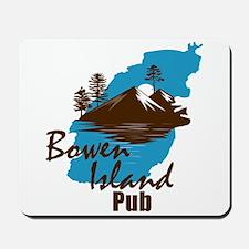 Bowen Island Pub Mousepad