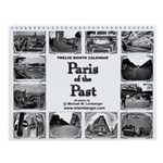 Paris of the Past Wall Calendar