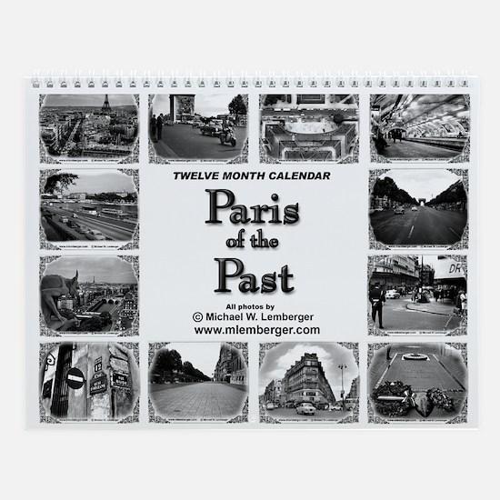 Paris of the Past Wall Calendar