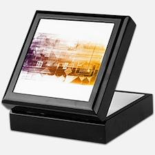 New Futuristic Tec Keepsake Box