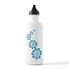 Groovy Flowers Water Bottle