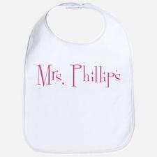 Mrs. Phillips Bib