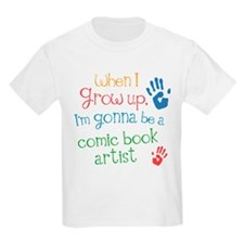 Future Comic Book Artist T-Shirt