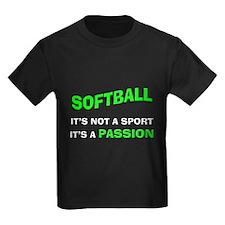 Softball It's a Passion T