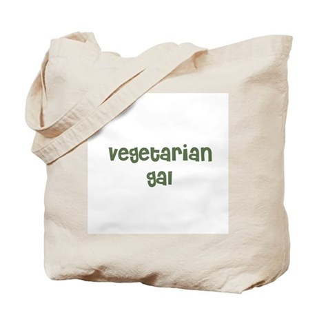 vegetarian gal Tote Bag