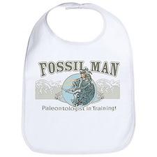 Fossil Man Bib