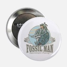 Fossil Man Button