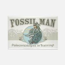 Fossil Man Rectangle Magnet