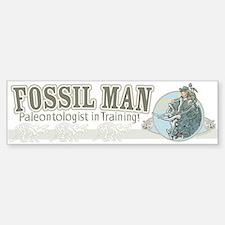 Fossil Man Bumper Bumper Bumper Sticker