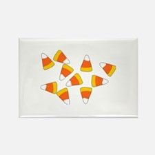 Candy Corn Rectangle Magnet