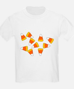 Candy Corn Kids T-Shirt