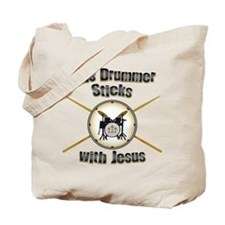Christian Drummer Tote Bag