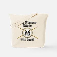 Christian Drummer Tote Bag