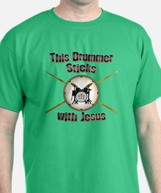 Christian Drummer T-Shirt