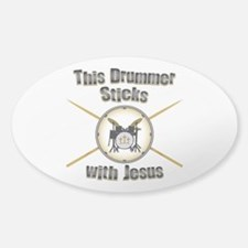 Christian Drummer Decal