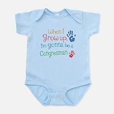 Kids Future Congressman Infant Bodysuit