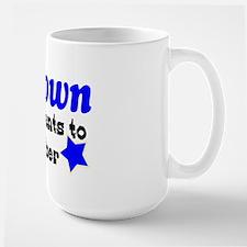 Chill Town membership Large Mug