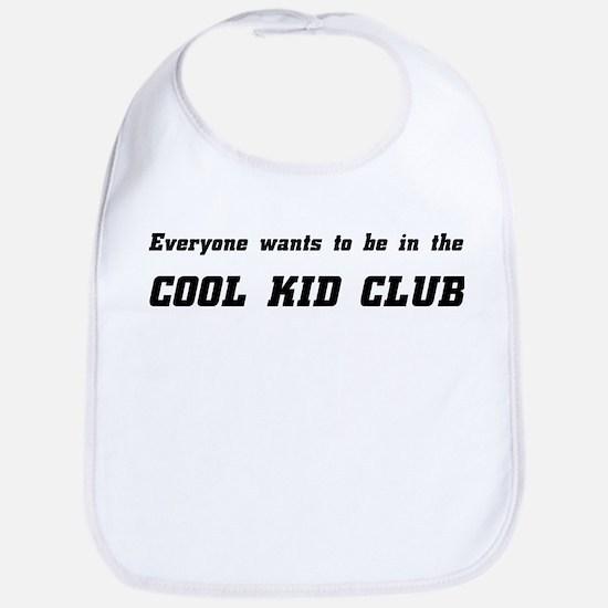 Cool Kid Club Bib