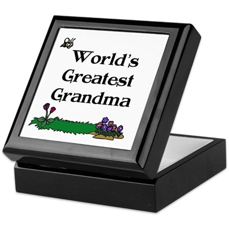 World's Greatest Grandma Gard Keepsake Box