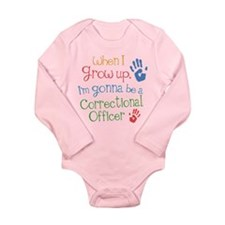 Future Correctional Officer Long Sleeve Infant Bod