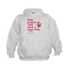 High Five in the face Hoodie