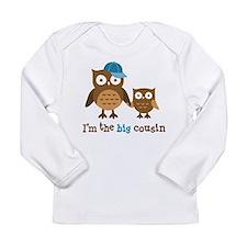 Big Cousin - Mod Owl Long Sleeve T-Shirt