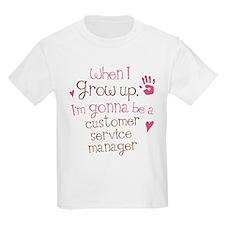 Future Customer Service Agent T-Shirt