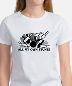 Bowling My Own Stunts Tee
