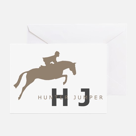 h/j horse Greeting Cards (Pk of 10)