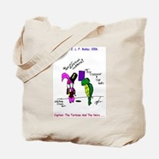 The Tortoise And The Heirs Tote Bag