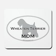 Wheaten Terrier MOM Mousepad
