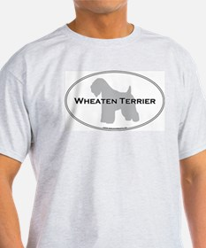 Wheaten Terrier Ash Grey T-Shirt