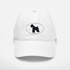 Wheaten Terrier Silhouette Baseball Baseball Cap