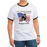 Motocross Happiness Ringer T
