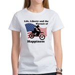 Motocross Happiness Women's T-Shirt