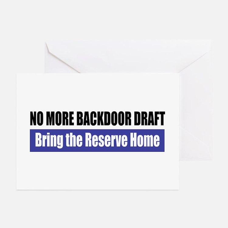 Backdoor Draft Greeting Cards (Pk of 10)