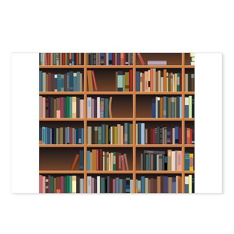 Bookshelf Postcards (Package of 8)