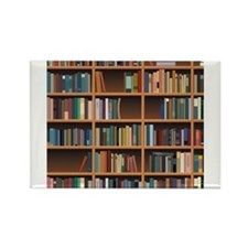 Bookshelf Rectangle Magnet (100 pack)